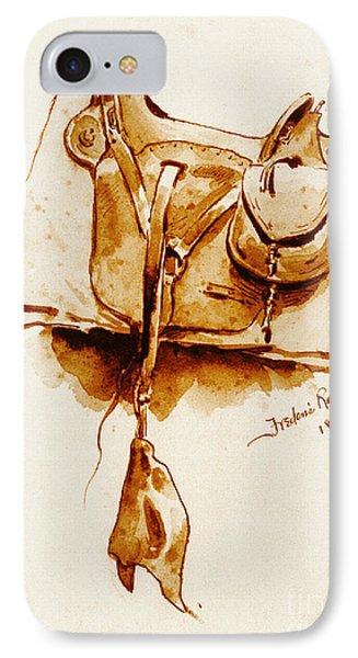 Us Cavalry Saddle 1869 IPhone Case