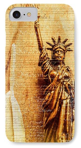 Us Constitution IPhone Case
