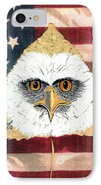 U.s. Flag Eagle IPhone Case