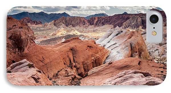 Valley Of Fire Expanse IPhone Case