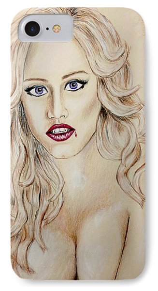Vampire Shannon IPhone Case