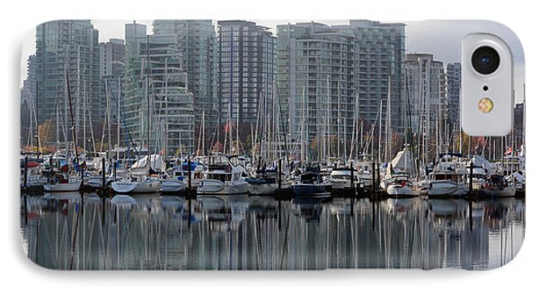 Vancouver Bc - Boats And Condos IPhone Case