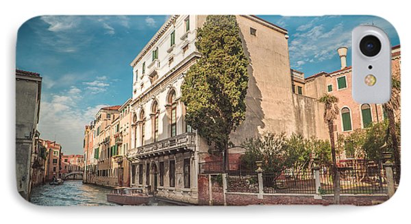 Venetian Architecture And Sky - Venice, Italy IPhone Case