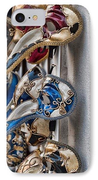 Venetian Carnival Masks IPhone Case