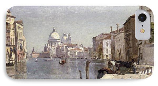 Venice - View Of Campo Della Carita Looking Towards The Dome Of The Salute IPhone Case