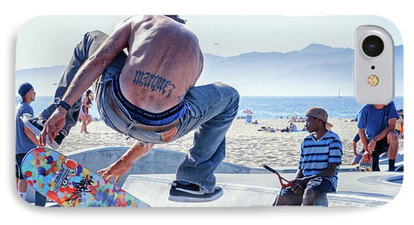 Venice Beach Skater IPhone Case