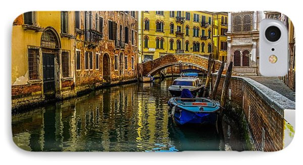 Venice Canal In Italy IPhone Case