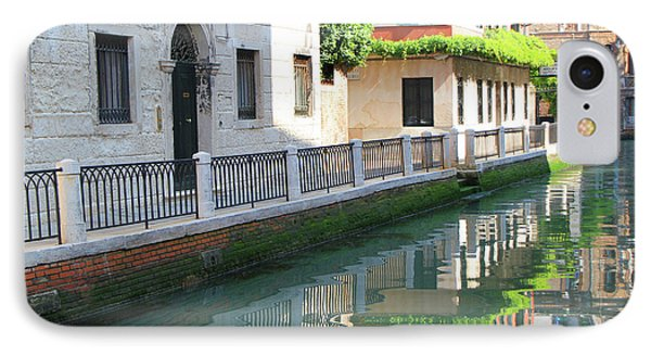 Venice Canal Reflection 3 IPhone Case