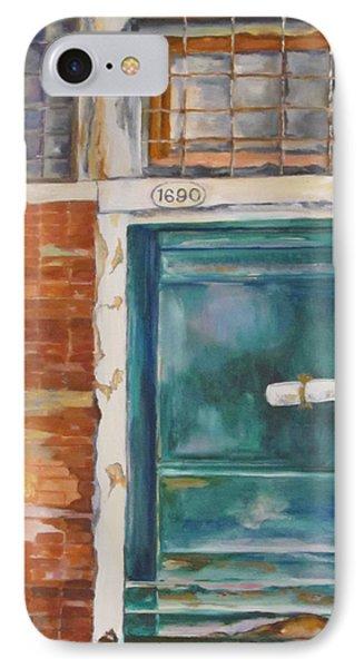 Venice Green Door IPhone Case