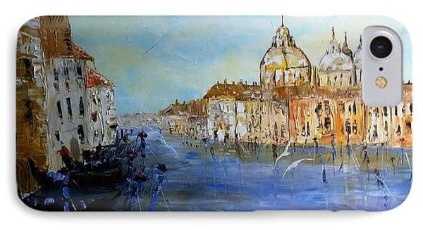 Venice Oil Sketch  IPhone Case