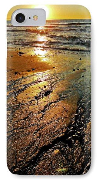 Ventura Beach Winter Sunset IPhone Case