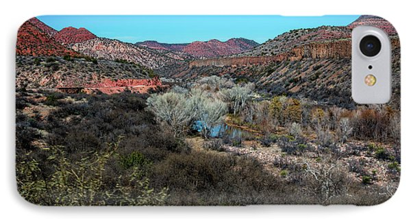 Verde Canyon Oasis IPhone Case