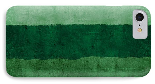 Verde Landscape 1- Art By Linda Woods IPhone Case