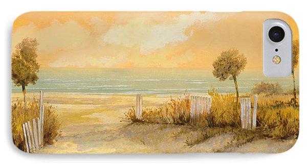 Verso La Spiaggia IPhone Case
