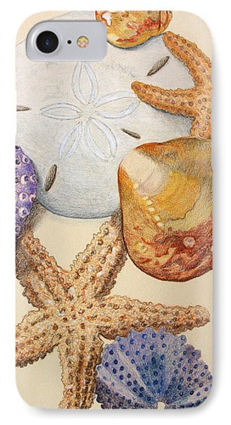 Vertical Starfish IPhone Case