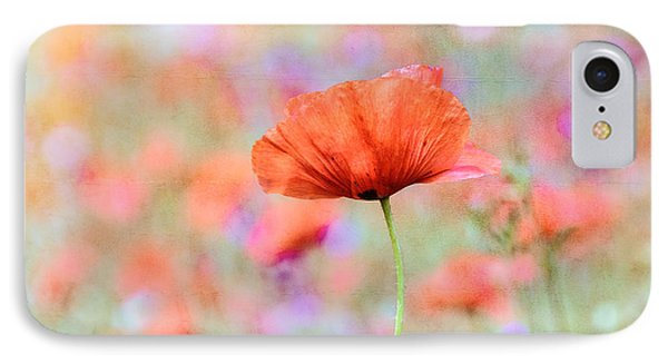 Vibrant Poppies In A Field IPhone Case
