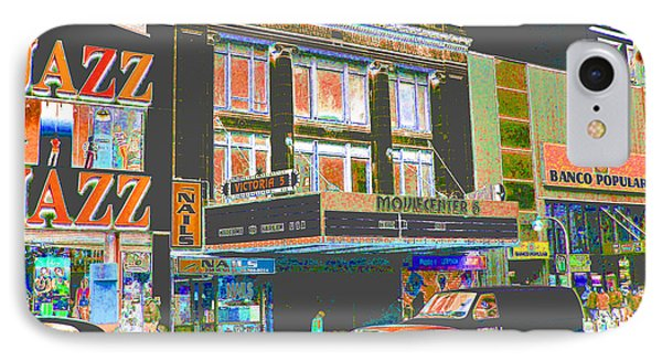Victoria Theater 125th St Nyc IPhone Case
