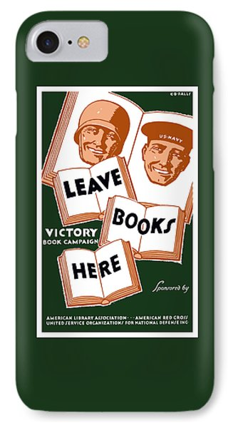 Victory Book Campaign - Wpa IPhone Case
