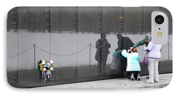 Vietnam Wall Family IPhone Case