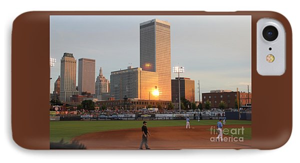 View From 3rd Base IPhone Case