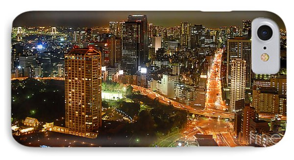 View From Tokyo Tower IPhone Case
