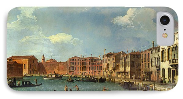 View Of The Canal Of Santa Chiara IPhone Case