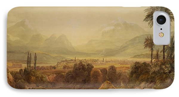 View Of Thebes IPhone Case