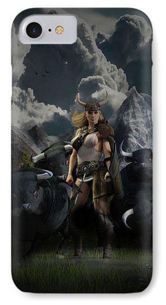 Viking Gefjon IPhone Case