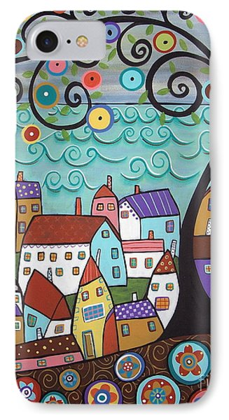 Village By The Sea IPhone Case