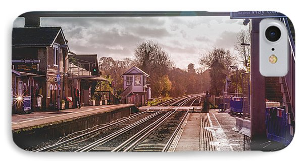 The Village Train Station IPhone Case