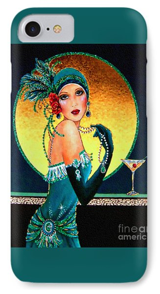 Vintage 1920s Fashion Girl  IPhone Case
