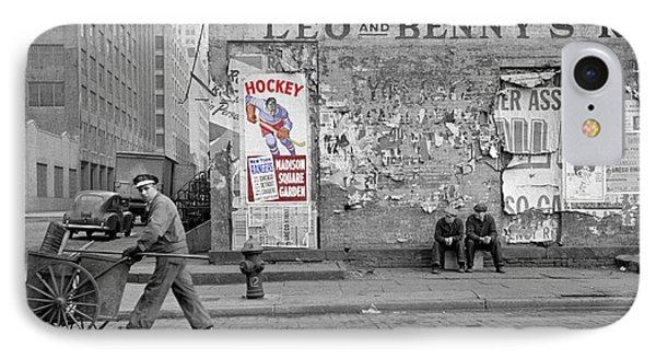 Vintage Hockey Poster IPhone Case