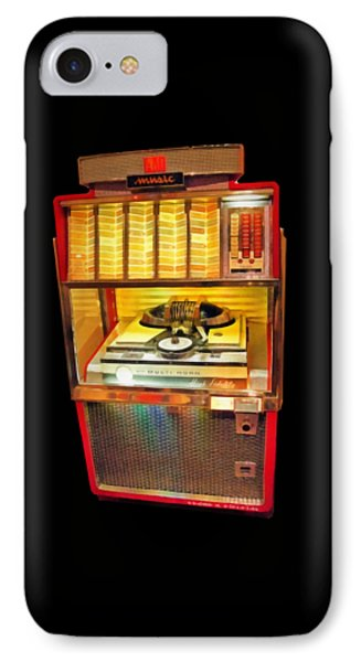 Vintage Jukebox Tee IPhone Case