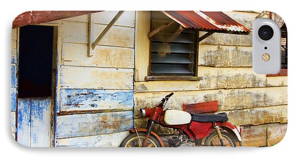 Vintage Motorbike IPhone Case