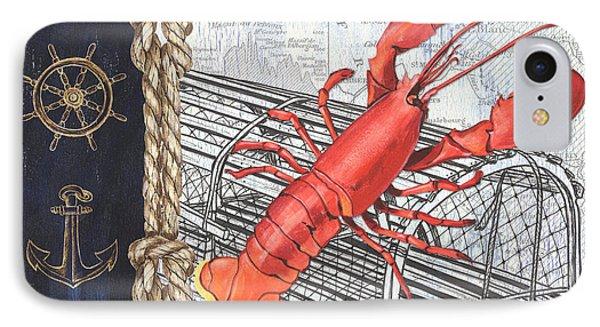 Vintage Nautical Lobster IPhone Case