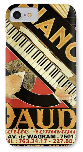 Vintage Piano Art Deco IPhone Case