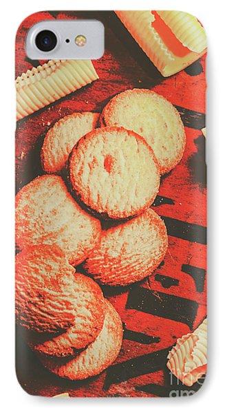 Vintage Rich Butter Shortcake Cookies IPhone Case