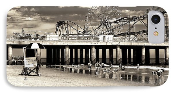 Vintage Steel Pier IPhone Case