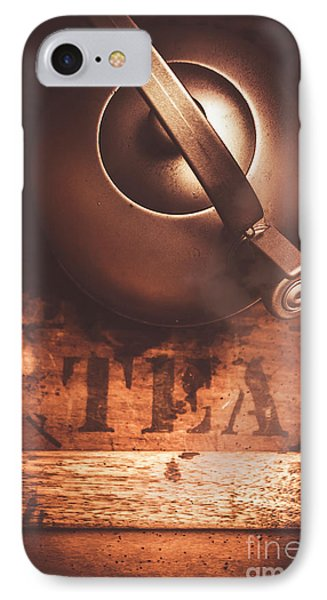 Vintage Tea Break IPhone Case