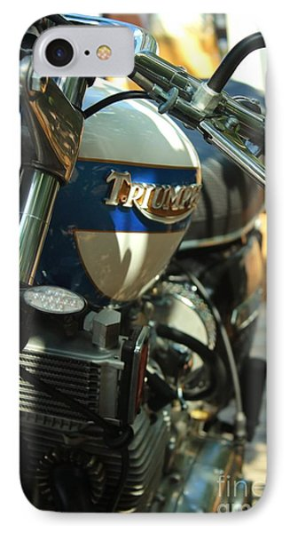 Vintage Triumph  IPhone Case