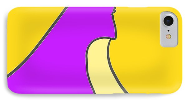 Violet Blonde IPhone Case