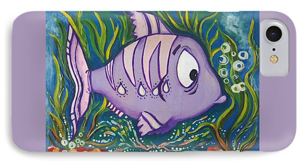 Violet Fish IPhone Case