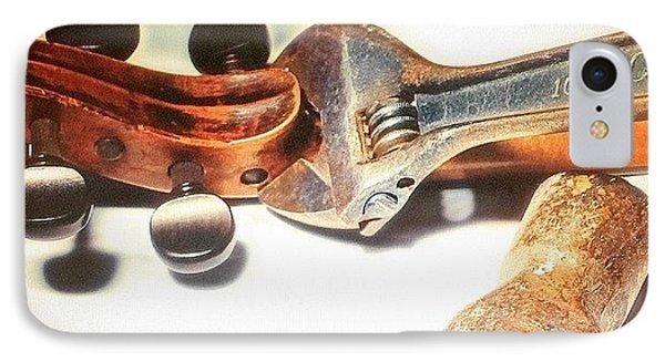 Violin Mechanics  IPhone Case