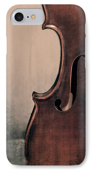 Violin iPhone 8 Case - Violin Portrait  by Emily Kay