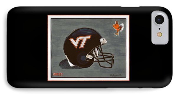 Virginia Tech T-shirt IPhone Case