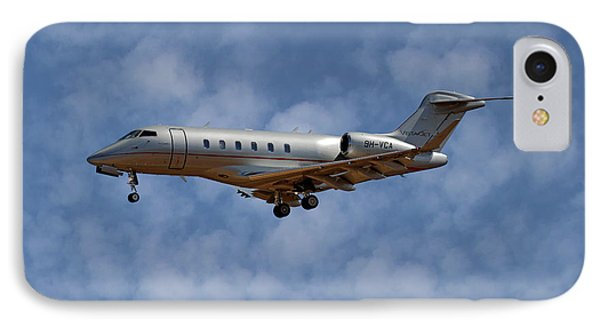 Jet iPhone 8 Case - Vista Jet Bombardier Challenger 300 1 by Smart Aviation