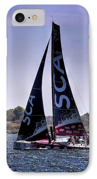 Volvo Ocean Race Team Sca IPhone Case