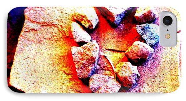 Vortex Heart Red Rocks IPhone Case