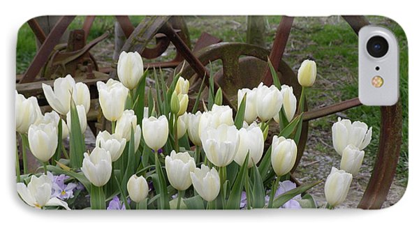 Wagon Wheel Tulips IPhone Case