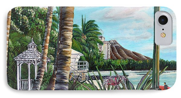 Waikiki IPhone Case